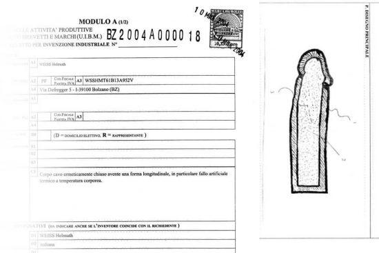 dildo patent